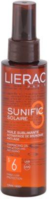 Lierac Sunific 3 napolaj SPF 6