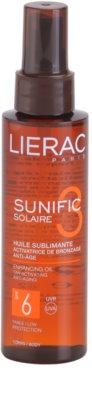 Lierac Sunific 3 олійка для засмаги SPF 6