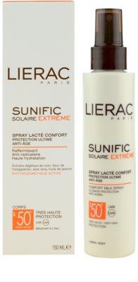 Lierac Sunific Extreme spray solar SPF 50+ 2