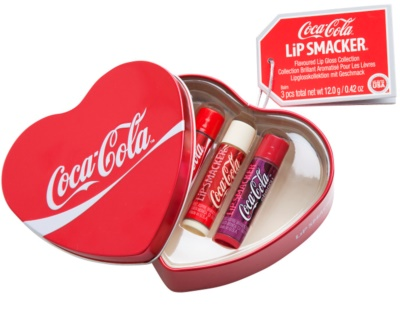 Lip Smacker Coca Cola lote cosmético III.