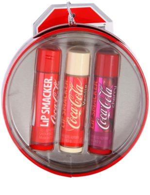 Lip Smacker Coca Cola set cosmetice IV. 1