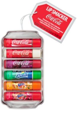 Lip Smacker Coca Cola Mix zestaw kosmetyków II.