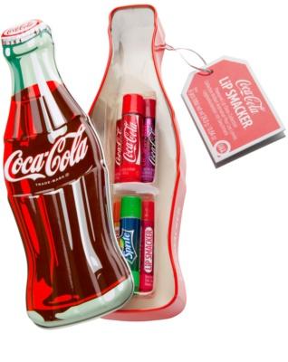 Lip Smacker Coca Cola Mix lote cosmético III.