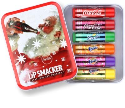 Lip Smacker Coca Cola Mix козметичен пакет  VI.