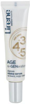 Lirene AGE re•GENeration 3+4+5 masca pentru regenerare pentru fata, gat si piept