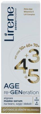 Lirene AGE re•GENeration 3+4+5 Regenerierende Maske für Gesicht, Hals und Dekolleté 2