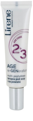 Lirene AGE re•GENeration 2+3 crema antiarrugas para contorno de ojos