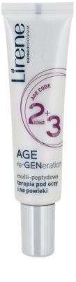 Lirene AGE re•GENeration 2+3 krema proti gubam za predel okoli oči