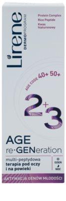 Lirene AGE re•GENeration 2+3 ránctalanító krém a szem köré 2