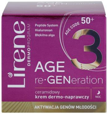 Lirene AGE re•GENeration 3 crema regeneratoare de noapte cu ceramide 2