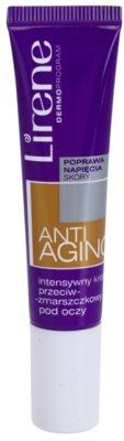 Lirene Anti-Aging przeciwzmarszczkowy krem pod oczy o intensywnym działaniu SPF 10