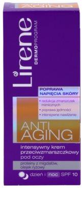 Lirene Anti-Aging creme antirrugas intensivo para os olhos SPF 10 2