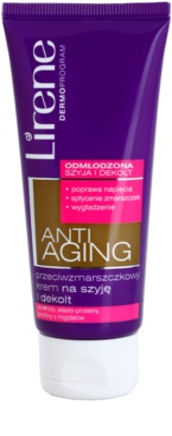 Lirene Anti-Aging creme antirrugas para pescoço e decote
