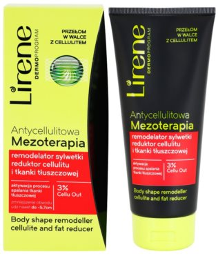 Lirene Anti-Cellulite remodellierende Körpercreme gegen Zellulitis 1