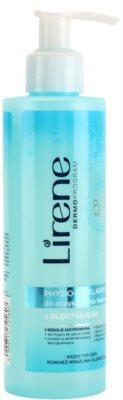 Lirene Algae Pure физиологичен мицеларен гел за почистване на грим за чувствителна и алергична кожа