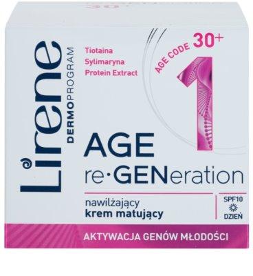 Lirene AGE re•GENeration 1 crema matifianta si hidratanta SPF 10 2