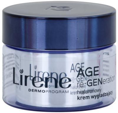 Lirene AGE re•GENeration 1 éjszakai bőrnyugtató krém hialuronsavval