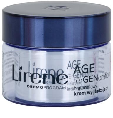 Lirene AGE re•GENeration 1 noční vyhlazující krém s kyselinou hyaluronovou
