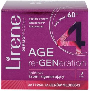 Lirene AGE re•GENeration 4 noční lipidový krém s regeneračním účinkem 2