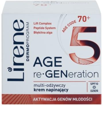 Lirene AGE re•GENeration 5 tápláló kisimító krém SPF 10 2
