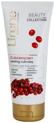 Lirene Beauty Collection Cranberry exfoliante corporal con azúcar