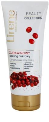 Lirene Beauty Collection Cranberry telový peeling s cukrom