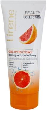 Lirene Beauty Collection Grapefruit telový peeling proti celulitíde