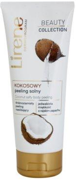 Lirene Beauty Collection Coconut exfoliante corporal con sal