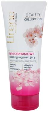 Lirene Beauty Collection Peach telový peeling s regeneračným účinkom