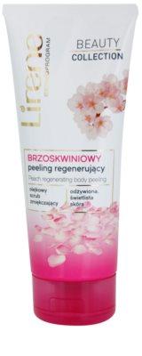 Lirene Beauty Collection Peach testpeeling regeneráló hatással