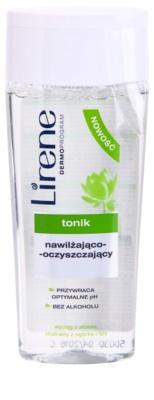 Lirene Cleaning очищуючий тонік зі зволожуючим ефектом