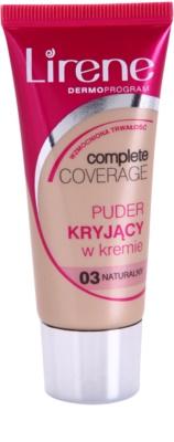 Lirene Complete Coverage crema cubre imperfecciones con efecto de polvos