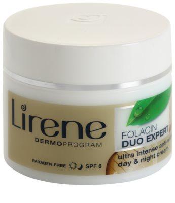 Lirene Folacin Duo Expert 40+ intenzivna krema proti gubam SPF 6