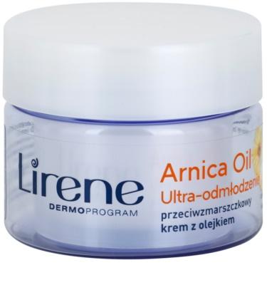 Lirene Essential Oils Arnica kisimító krém a ráncok ellen