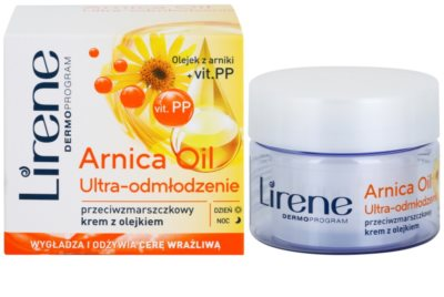 Lirene Essential Oils Arnica kisimító krém a ráncok ellen 1