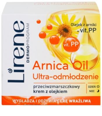 Lirene Essential Oils Arnica kisimító krém a ráncok ellen 2