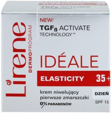 Lirene Idéale Elasticity 35+ Tagescreme gegen erste Falten SPF 15 3
