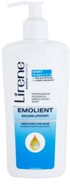 Lirene Emolient basam pentru corp cu efect hidratant reface bariera protectoare a pielii