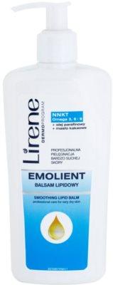 Lirene Emolient glättender Body-Balsam regeneriert die Hautbarriere