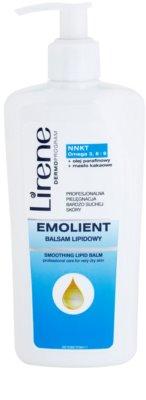 Lirene Emolient vyhladzujúci telový balzam pre obnovu kožnej bariéry