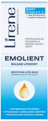 Lirene Emolient wygładzający balsam do ciała odnawiający barierę ochronną skóry 2