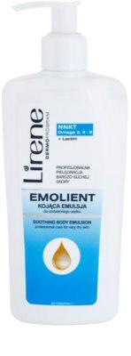 Lirene Emolient успокояваща емулсия за тяло за много суха кожа