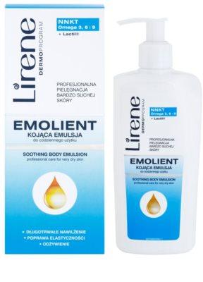 Lirene Emolient lotiune de corp calmanta pentru piele foarte uscata 1