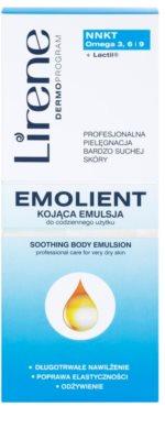 Lirene Emolient lotiune de corp calmanta pentru piele foarte uscata 2
