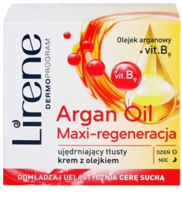 Lirene Essential Oils Argan интензивен регенериращ крем за суха кожа 2