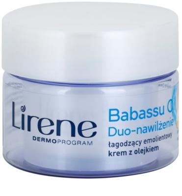 Lirene Essential Oils Babassu beruhigende und hydratisierende Creme