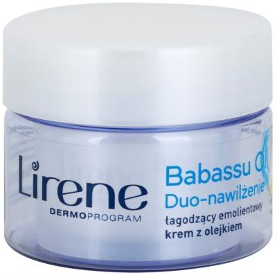 Lirene Essential Oils Babassu pomirjevalna in vlažilna krema