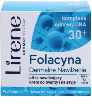 Lirene Folacyna 30+ зволожуючий денний крем SPF 6 2