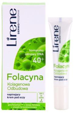 Lirene Folacyna 40+ gladilna krema za predel okoli oči 1