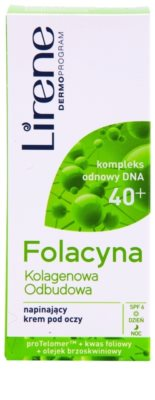 Lirene Folacyna 40+ gladilna krema za predel okoli oči 2
